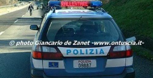 Teramo. Polizia Stradale: una domenica di infrazioni al codice della strada