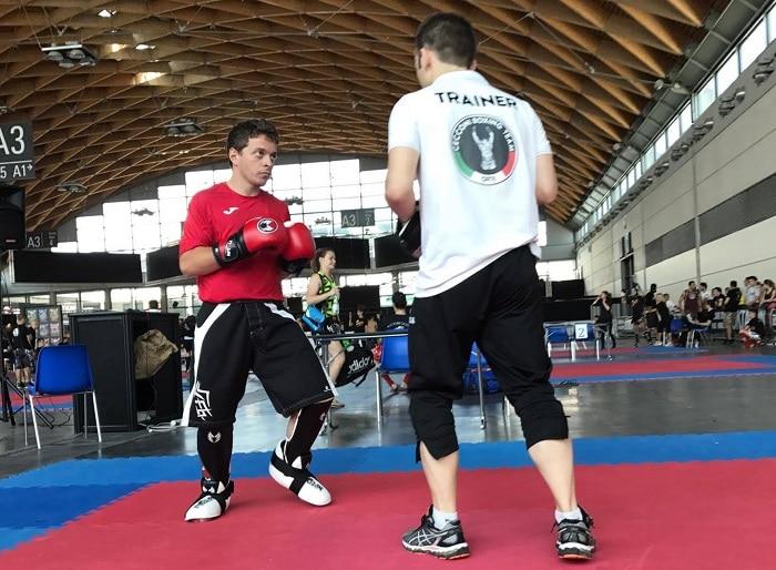 La cecconi kick boxing team di orte conquistano due titoli - Allenamento kick boxing a casa ...