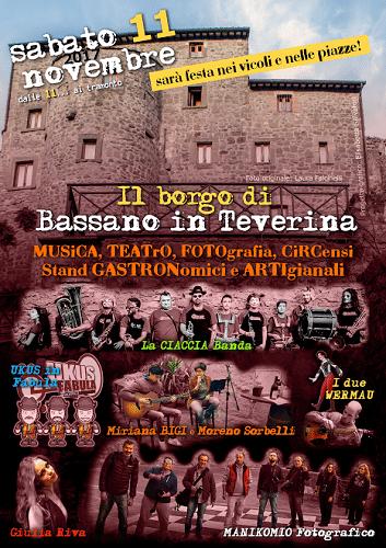 Il Borgo di Bassano in Teverina fa festa ricordando Mario ...