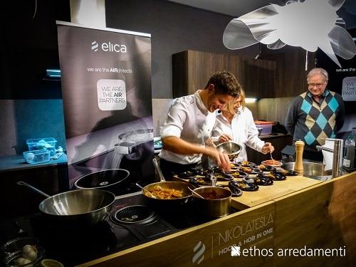 A viterbo show cooking di eccellenza di simone finetti for Ethos arredamenti
