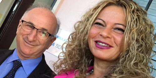 Massimo Paolini e Rita Chiatti