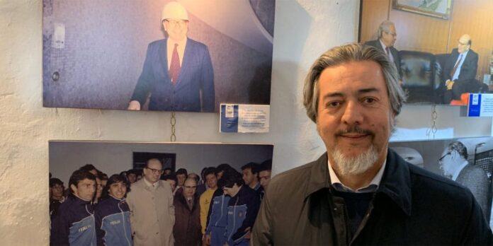 Francesco Battistoni visita mostra su Craxi