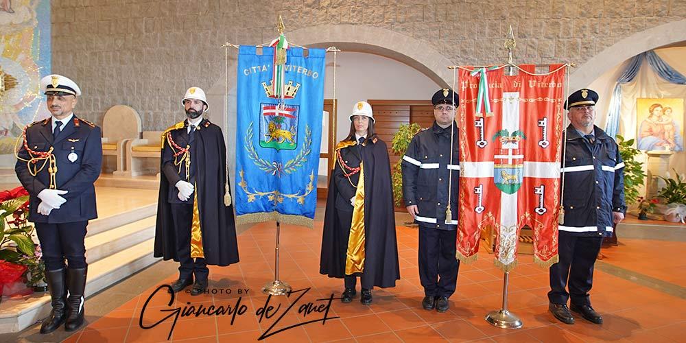 Viterbo - celebrato san Sebastiano, patrono Polizia Locale
