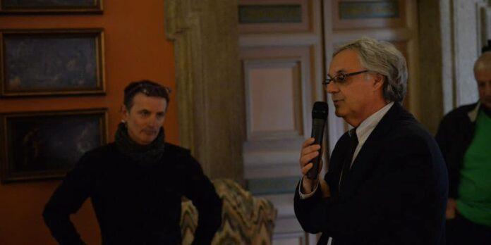 Premiazione II edizione - Presidente della Fondazione Carivit Marco Lazzari