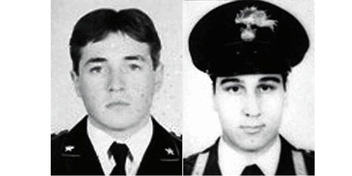 Savastano e Tarsilli, giovani carabinieri uccisi da banda comunista in anni piombo