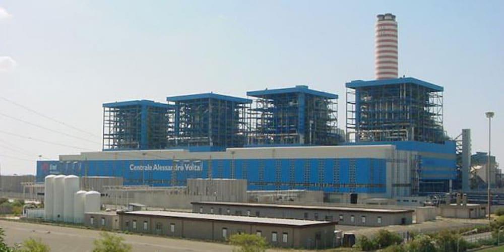 Centrale ENEL Montalto di Castro