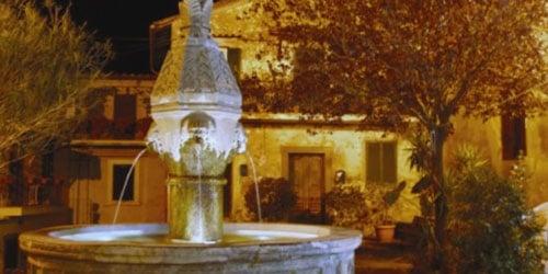 Sutri - Fontana