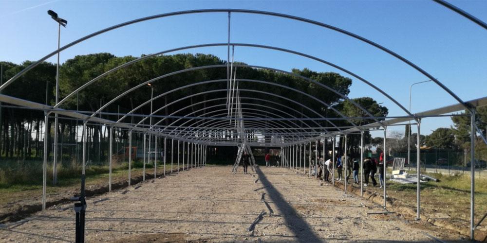 Sezione di Agraria dell'IISS Cardarelli: Serra climatizzata