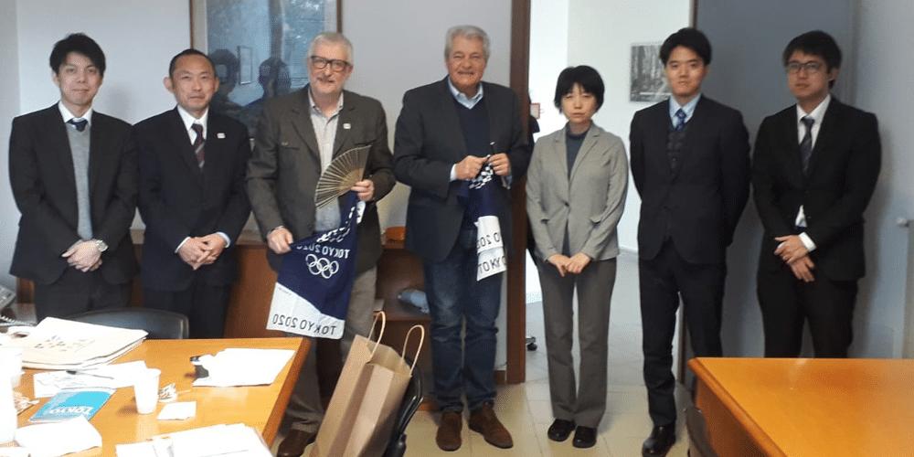 """""""Tokio 2020"""" una delegazione proveniente dal Giappone ha visitato la sede della Comunità Montana Alta Tuscia Laziale"""