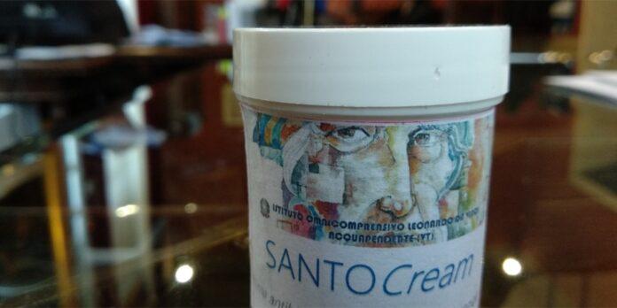 Crema antibiotica a base di olio essenziale di Santolina etrusca