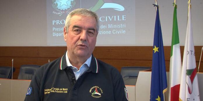 Angelo Borrelli, Capo Dipartimento a margine del Comitato Operativo