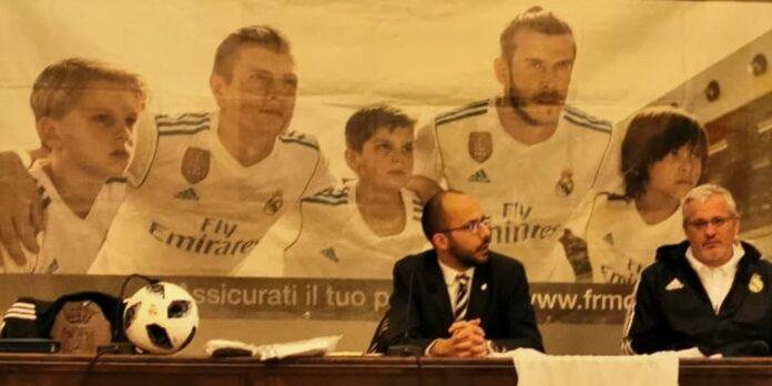 Il calcio del Real Madrid a Bagnoregio