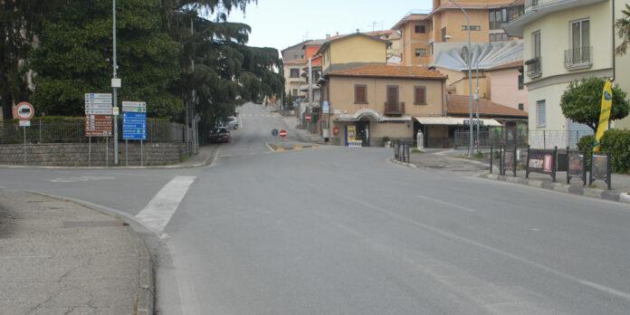 Montefiascone incrocio Cassia