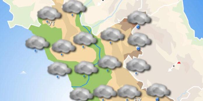 Pioggia a temporali