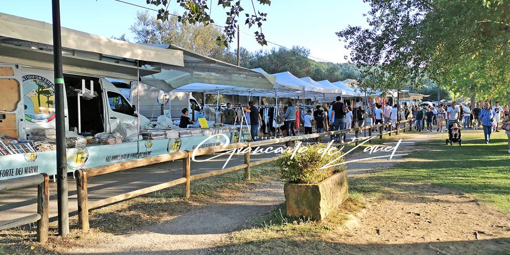 Mercato a Montefiascone Lungolago