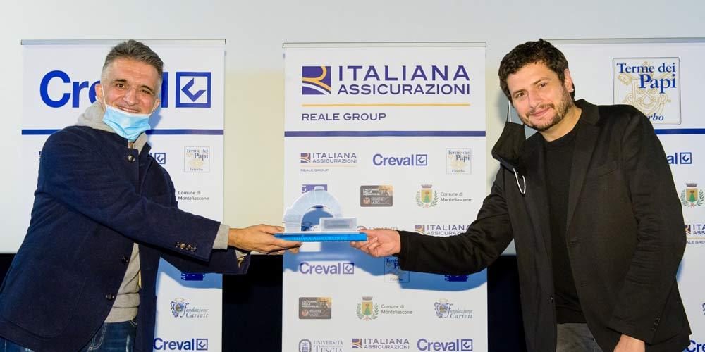 Claudio Giovannesi riceve l'Arco di Platino di Est Film Festival