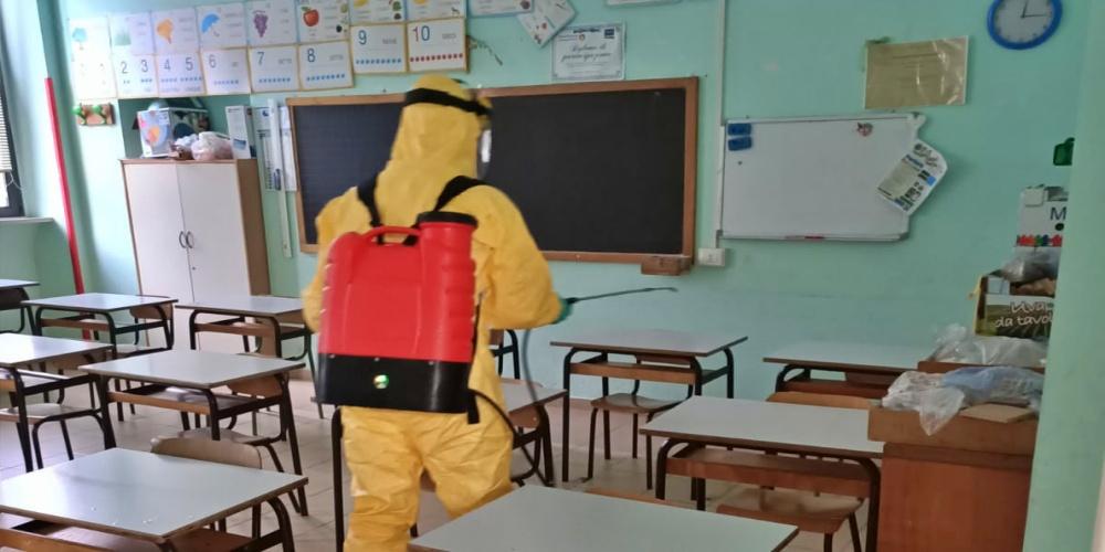 scuole sanificate
