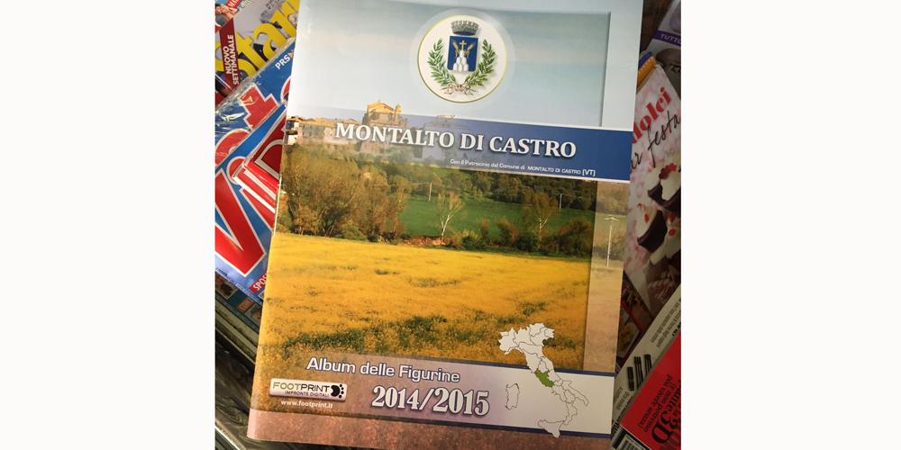 Lalbum-delle-figurine Montalto di Castro