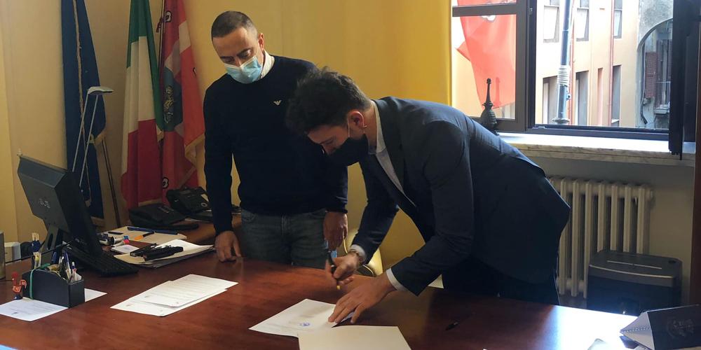 Pietro Nocchi e Luca Profili