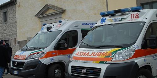 Ambulanza Associazione Solidarietà Falisca