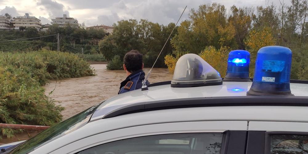 Alluvione Montalto di Castro