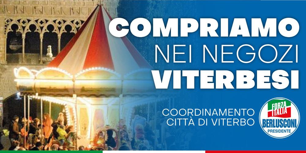 Compriamo a Viterbo _ Natale Forza Italia