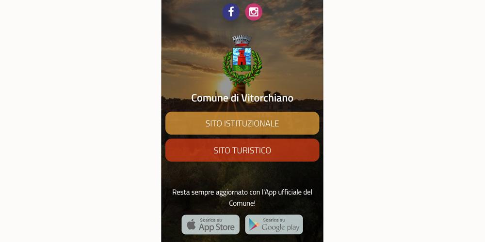 Vitorchiano sito e App