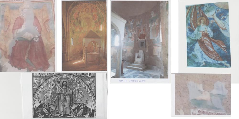 abside nella chiesa di San Pietro in Tuscania