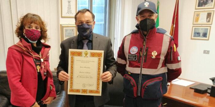 Il Questore Giancarlo Sant'Elia socio onorario dell'Associazione Nazionale Polizia di Stato