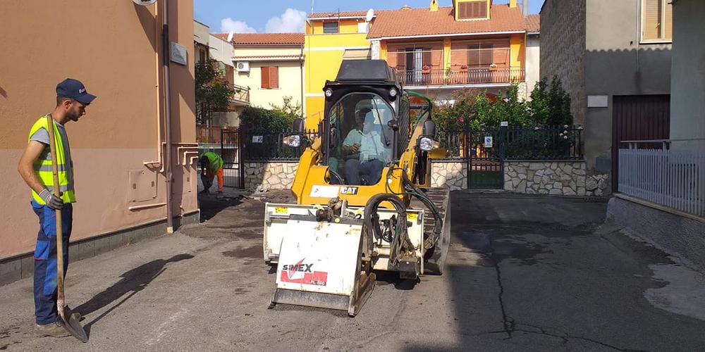 Lavori Strada Canino