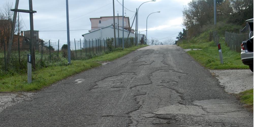 Strade da asfaltare a Montefiascone