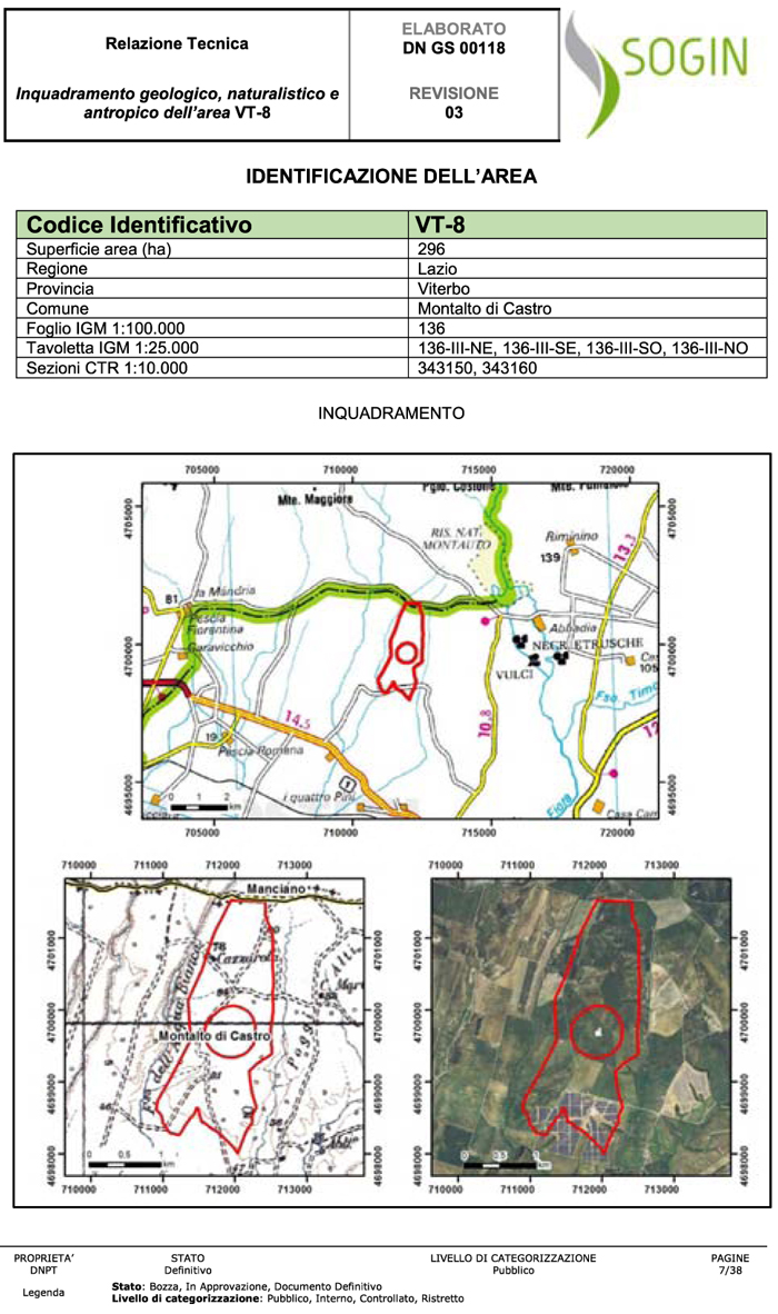Mappa deposito VT-8