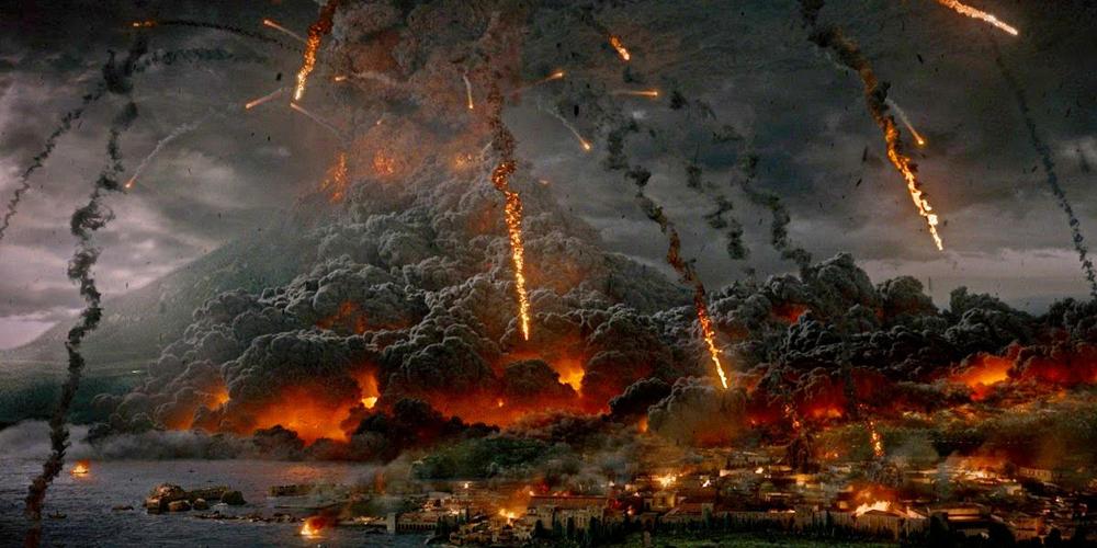 Eruzione a Pompei