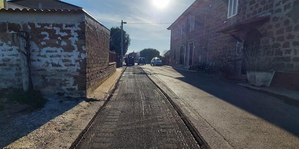 asfaltatura Cura di Vetralla