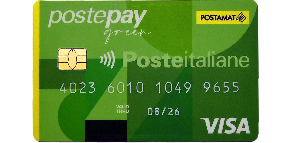 Postepay-green carta di Credito