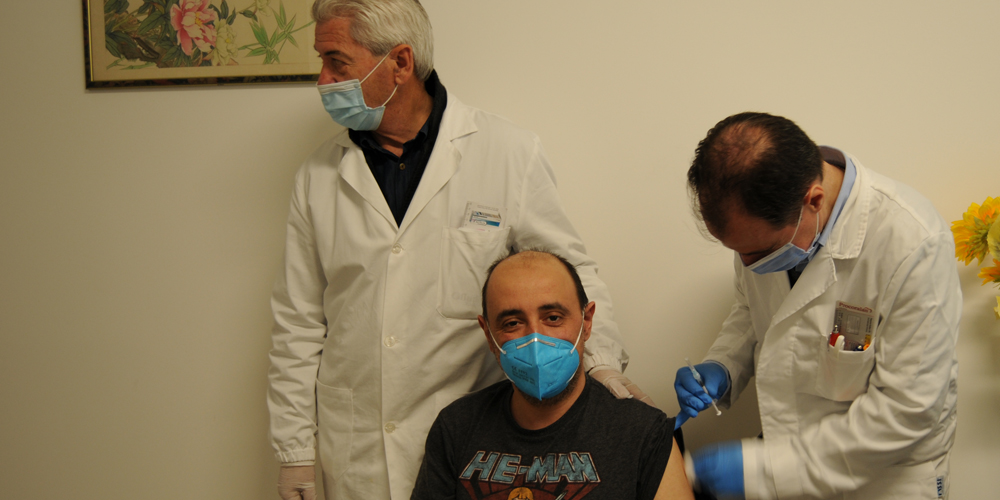 Vaccinazione Guardie Montefiascone