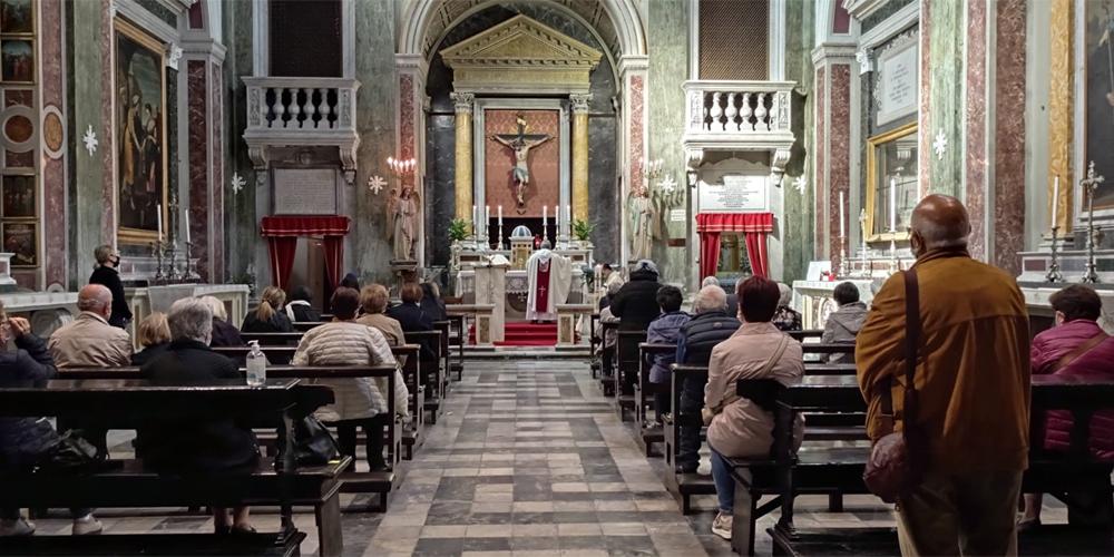 Chiesa della Duchessa in via S. Pietro