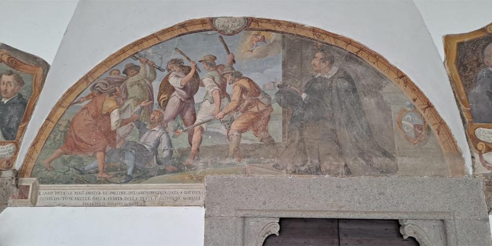 Chiostro della Basilica di Santa Maria della Quercia a Viterbo