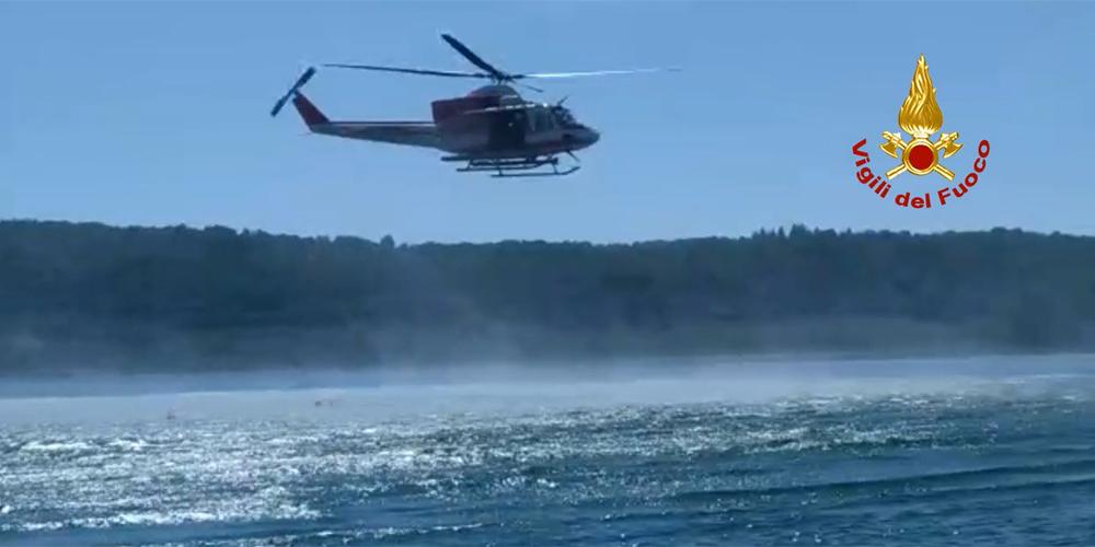 Vigili del Fuoco Lago di Vico