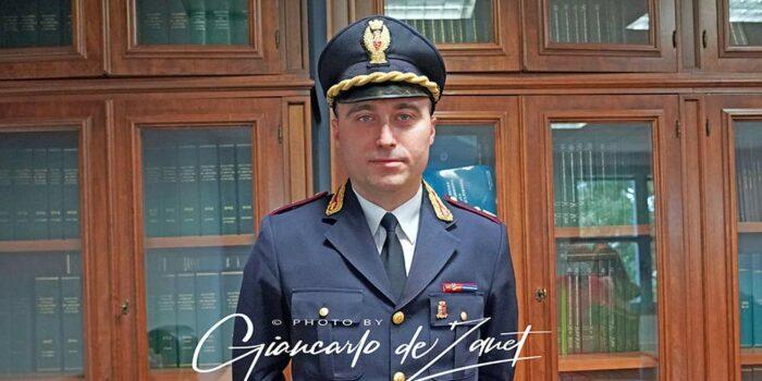 Alessandro Tundo capo della Squadra Mobile di Viterbo