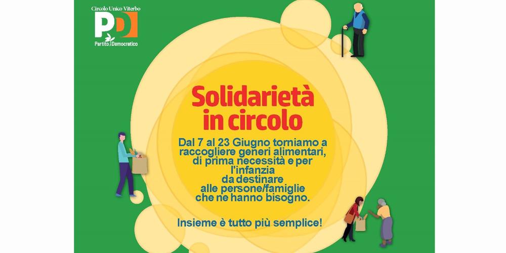 Solidarietà in circolo