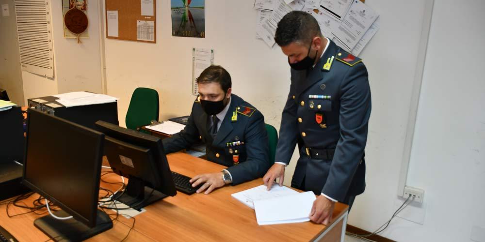 Guardia Finanza Viterbo