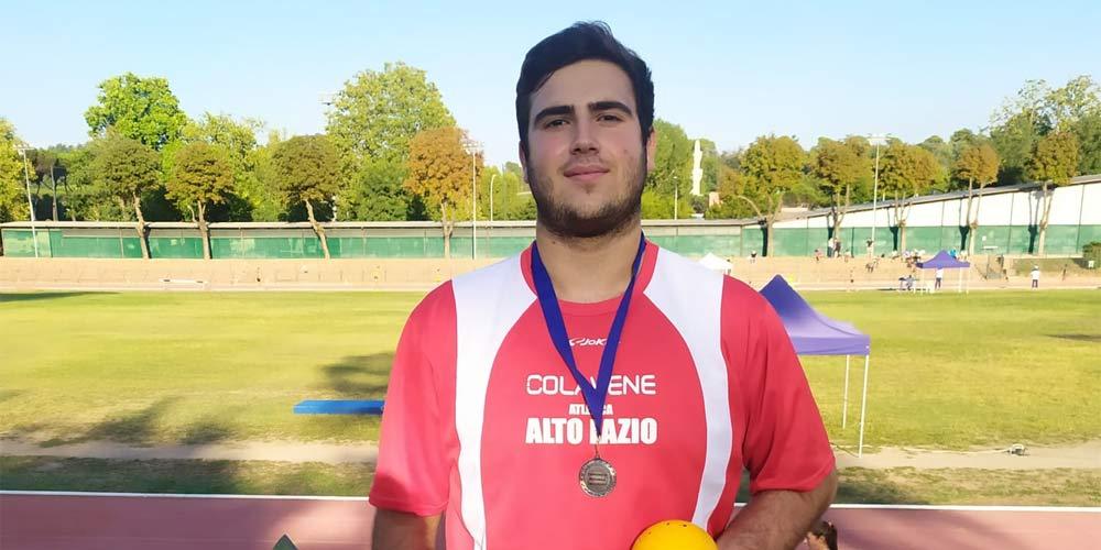 Atletica Alto Lazio - lanciatore Giuseppe Guerra