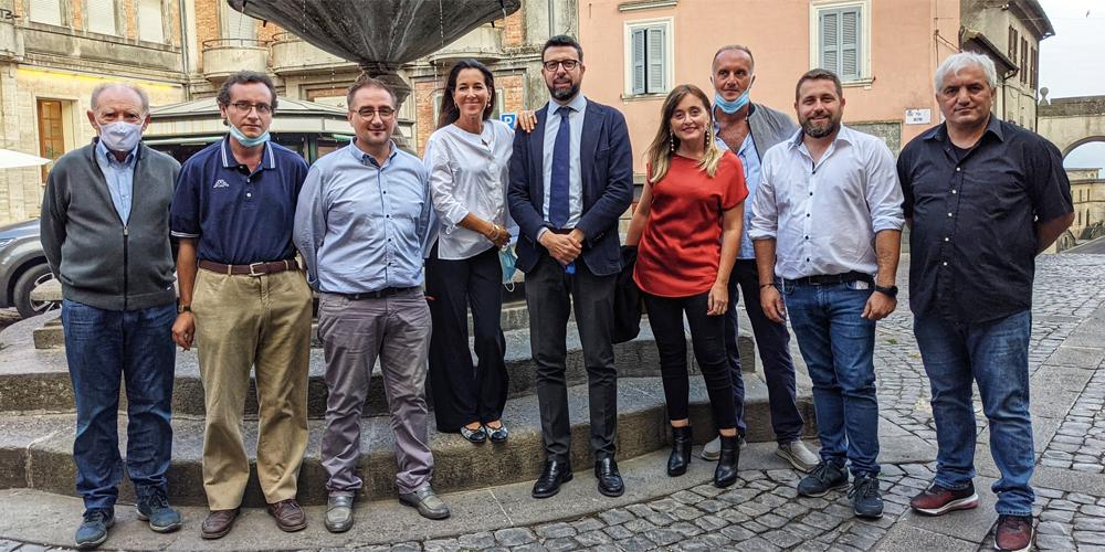 La Senatrice Licia Ronzulli (FI) ha visitato la Tuscia